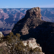 A view of the Canyon from the South Rim