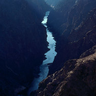 View of the Inner Gorge from the Tonto Plateau.