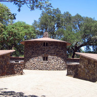 The 'Pig Palace' of the Beauty Ranch, Jack London State Park.