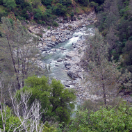The South Fork of the Yuba River.