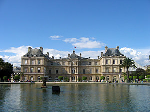 Thumbnail image of The Luxembourg Palace in Luxembourg Gardens.