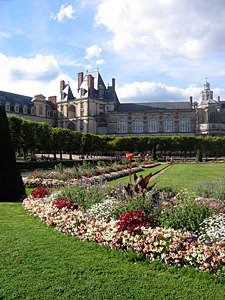 Thumbnail image ofA view of the back side of Fontainebleau Chateau...