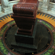Napoleon's Tomb at the Hotel des Invalides.