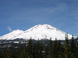 Thumbnail image ofMt. Shasta in early Spring (6 March 2005).
