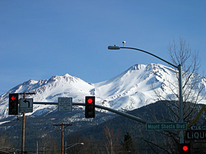 Thumbnail image ofMt. Shasta from downtown Mt. Shasta City (7 March...