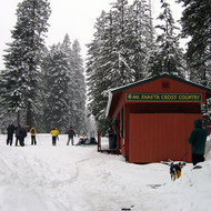 Mt. Shasta Cross Country Ski Center.