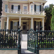 The Cornstalk Fence Hotel.
