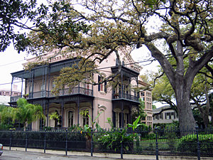 Thumbnail image of A mansion in the Garden District.