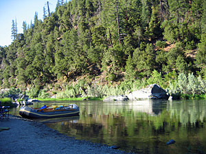 Thumbnail image of The Lower Klamath River below Happy Camp.