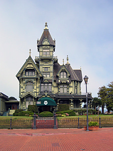 Thumbnail image ofThe Carson Mansion in Eureka, now the home of...