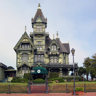 The Carson Mansion in Eureka, now the home of the Ingomar Club (closed to the public).