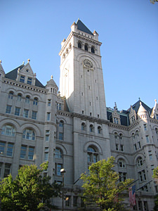 Thumbnail image of The Old Post Office building on Pennsylvania Avenue...