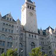 The Old Post Office building on Pennsylvania Avenue in Washington, DC.