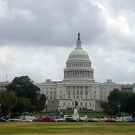 The United States Capitol building, Washington, DC.