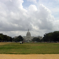 The United States Capitol building, Washington, DC from the Mall.
