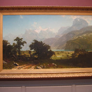 Lake Lucerne by Albert Bierstadt, The National Gallery of Art, Washington, DC.