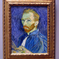 Self-portrait, Vincent van Gogh, The National Gallery of Art, Washington, DC.