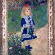 A Girl With a Watering Can, Pierre-Auguste Renoir, The National Gallery of Art, Washington, DC