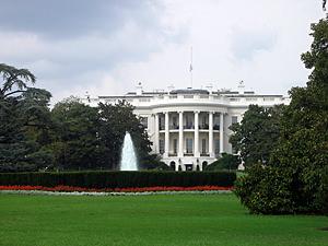 Thumbnail image ofA close-up of the White House, Washington, DC.