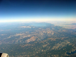 Thumbnail image ofAn aerial view of the Sierra Nevada Mountains...