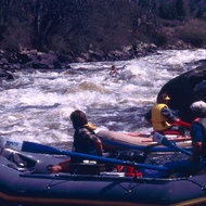 Caldera Rapid on the Upper Klamath.
