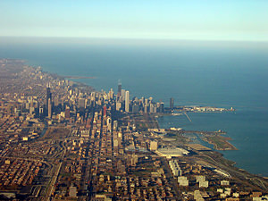 Thumbnail image ofAerial view of Chicago.