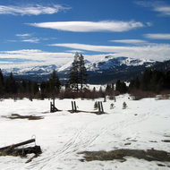 The Hope Valley, south of Lake Tahoe.