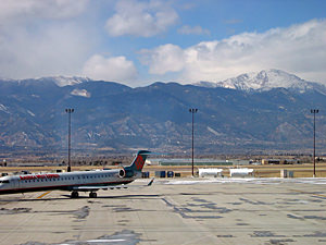 Thumbnail image ofA view of Pikes Peak from the Colorado Springs...