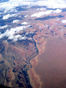 Thumbnail image of Marble Gorge of the Grand Canyon, showing Nankoweap...