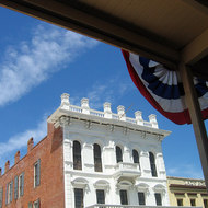 Old Town Sacramento, once of the key cities of the Gold Rush, now the California state capitol.