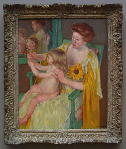 Thumbnail image of Mother and Child, c. 1905.