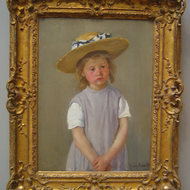 Child in a Straw Hat, c. 1886.