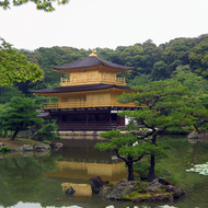 Kinkaku-ji, also known as the Golden Temple, one of the most famous sites in Japan.