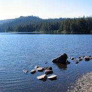 Gold Lake in Sierra County near Portola, CA.