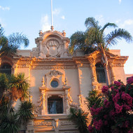 A view of the House of Hospitality in Balboa Park.