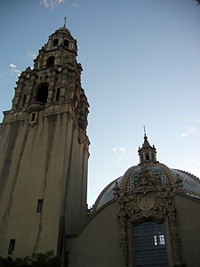 Thumbnail image ofA view of the San Diego Museum of Man in Balboa...