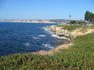 Thumbnail image ofA view of the coast at La Jolla.