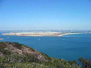 Thumbnail image ofA view of Coronado Island and San Diego from Point...