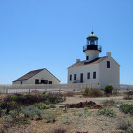 The Old Point Loma Lighthouse at Cabrillo National Monument.