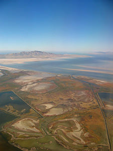 Thumbnail image of The Great Salt Lake.