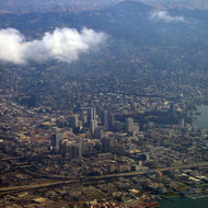 A view of downtown Oakland.