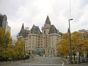 Thumbnail image of The Fairmont Chateau Laurier in Ottawa.