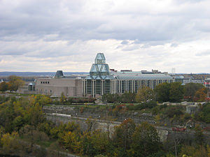 Thumbnail image ofThe National Gallery of Canada from Parliament...