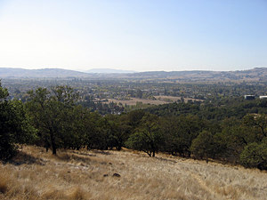 Thumbnail image ofLooking out over Sonoma from the Overlook Trail.