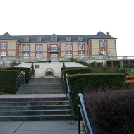 Domaine Carneros winery in the Carneros region of Sonoma and Napa counties, California.