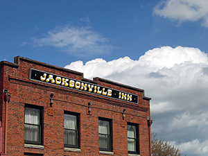 Thumbnail image ofA view of the historic Jacksonville Hotel building...