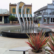 Public art in Tiburon, CA,