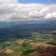 Farmland near Denver International Airport.