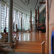 The great hall of the Canadian Museum of Civilization.