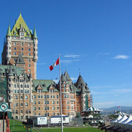 The Fairmont le Chateau Frontenac in Quebec.